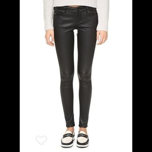 AG Skinny Leather Pants - Size 32